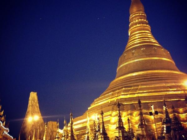 Premiers jours au Myanmar