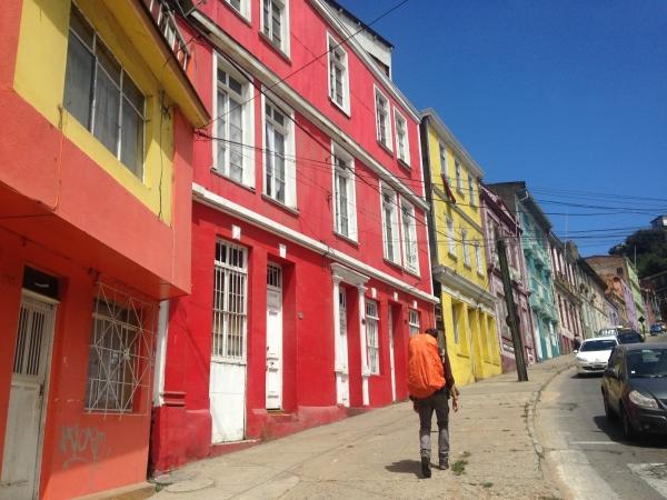 Arrivés à Valparaiso