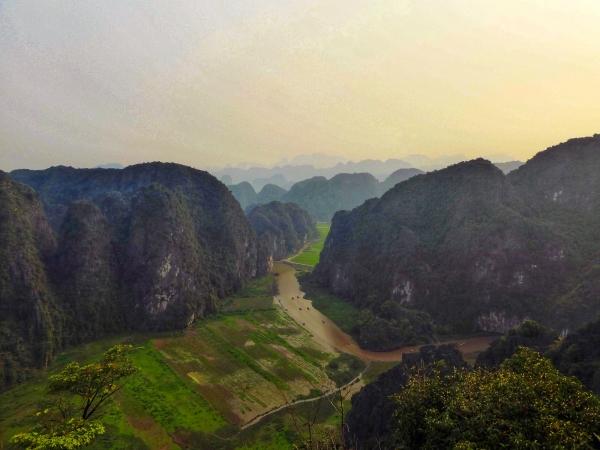 Tam Coc et sa baie d'Halong terrestre