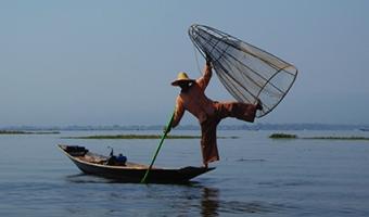 Voyage sur le lac Inlé au Myanmar