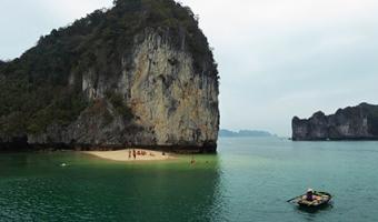 La baie d'Ha Long depuis l'île de Cat Ba