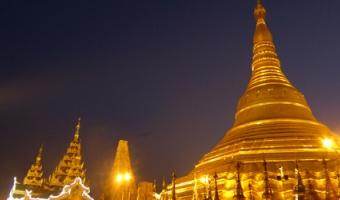 La pagode Shwedagon à Yangon