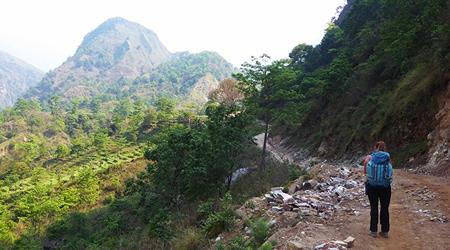 Circuit Annapurna Jour 1 : Besisahar - Bhulbhule