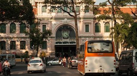 Arrivée fracassante à Ho Chi Minh
